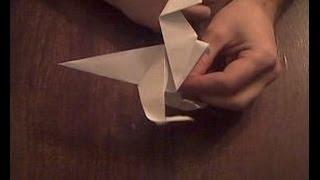 Динозавры из бумаги оригами  раптор Dinosaurs Paper Raptor Origami
