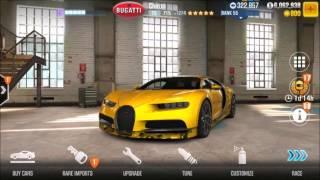 CSR 2 Chiron Fastest Tune 9.2 seconds