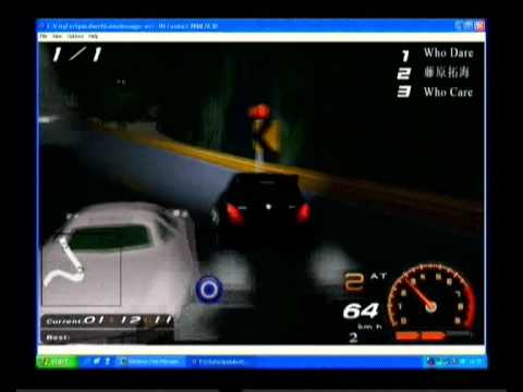VRML Racing Game PROTO (City For Speed - Hong Kong Track alpha test)