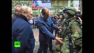 Россия Вооружение : Владимир Путин Инспектирует Военные Разработки !!!