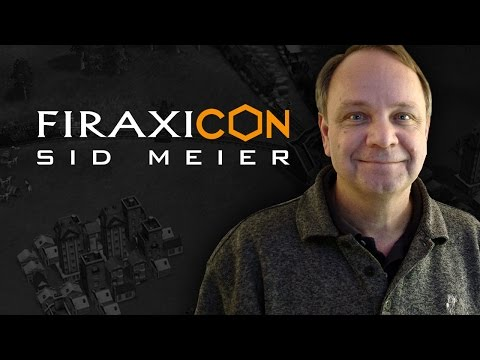 Making Life Epic: A Look Back at Sid Meier's Beloved Classics - Firaxicon 2015
