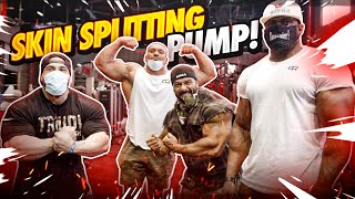 SKIN SPLITTING PUMP!