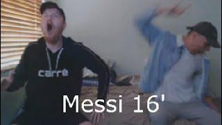 "BARCELONA 3 - 0 MAN UNITED (LIVE REACTION) ""MESSI THE GOAT"""