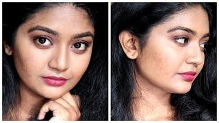 Makeup look using affordable products||Simple but elegant makeup look||SimplyMyStyle Unni