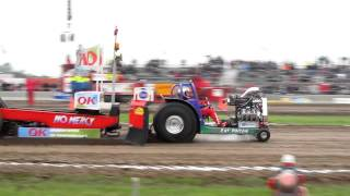 Tractor pulling Oudenhoorn 2011 Original Rat Poison 950 kg modified