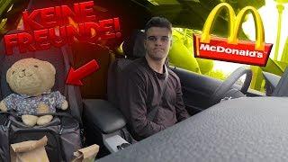 McDonalds PRANK | Selbstgespräche mit meinem Teddybär | FLEX IT