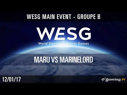 Maru vs MarineLorD - WESG Main Event - Groupe B - Stracraft II