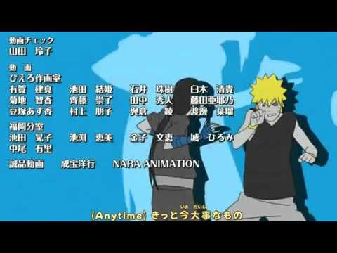 Naruto Shippuden Ending 15   U CAN DO IT