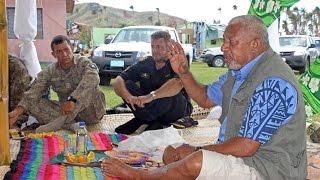Fijian Prime Minister Hon. Voreqe Bainimarama tours Vanuabalavu, Lau.