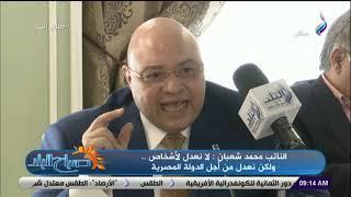 النائب محمد شعبان: تعديل الدستور جاء من أجل مصلحة الدولة المصرية