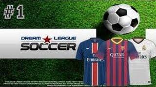 Dream league soccer türkçe lige başlayış.