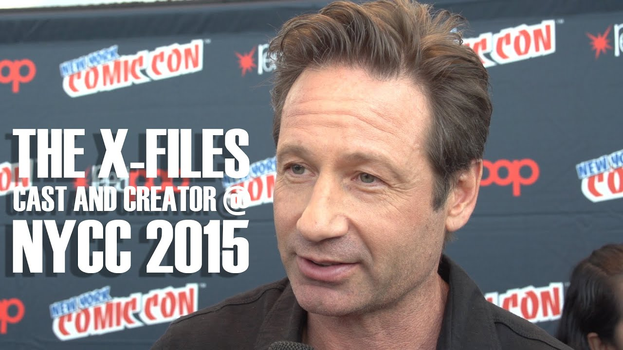 The X Files Revival Cast And Creator Interviews At New York Comic Con 2015
