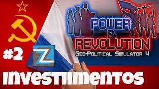 Geo-Political Simulator 4 - Russia [2] Investimentos na economia #gps4 PT-BR