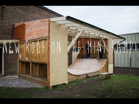 The Atbshop Skate Warehouse Mini Ramp Youtube