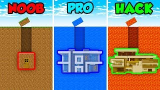minecraft-noob-vs-pro-vs-hacker-underground-house-in-minecraft-animation