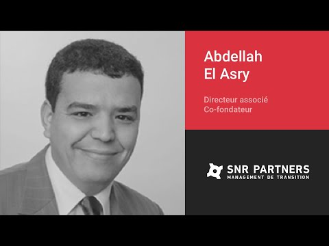 SNR Partners — Abdellah El Asry