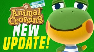 This Got Fixed!? New Animal Crossing Switch Update 1.2.1! (new Horizons Tips)