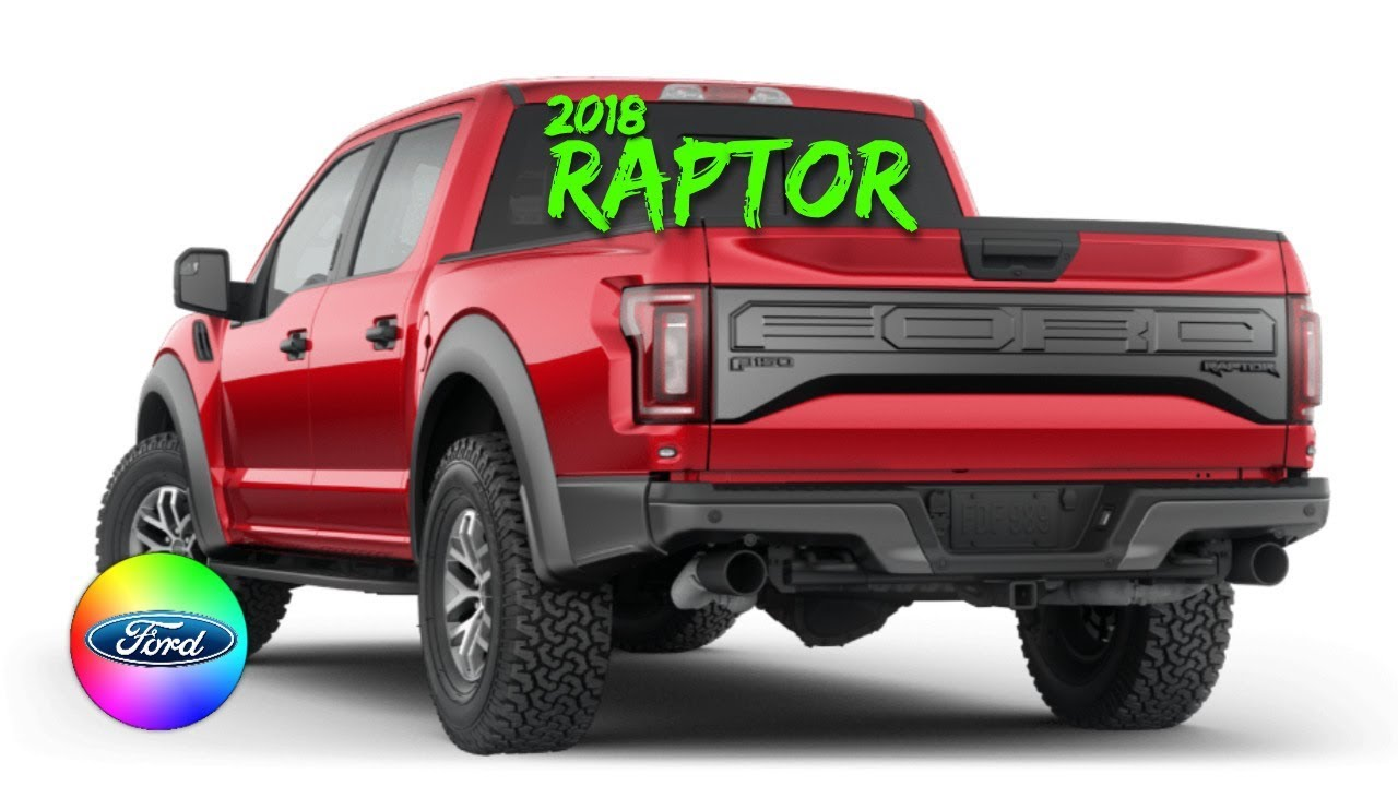 2018 ford f150 raptor colors