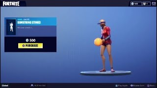 SOMETHING STINKS *New Emote*|Fortnite BR.
