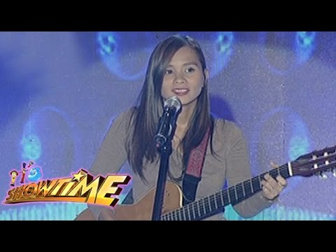 It's Showtime Singing Mo To: Kitchie Nadal sings