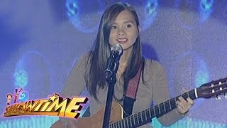 "Singer-songwriter Kitchie Nadal performs ""Wag Na Wag Mong Sasabihin..."