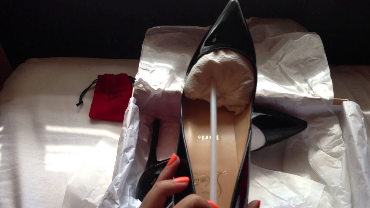 Shoejob with christian louboutin high heels cum on shoes
