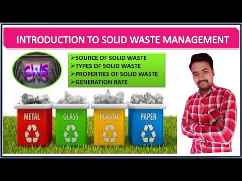 Introduction to solid waste management in civil engineering