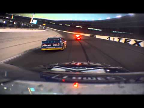 Jimmie Johnson Onboard 2012 AAA Texas 500 last 20 laps