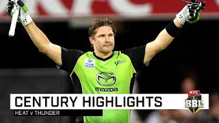 Watson unleashes for first ton of BBL08