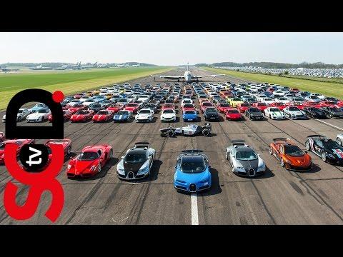 The £50m Supercar Shoot | Secret Supercar Meet