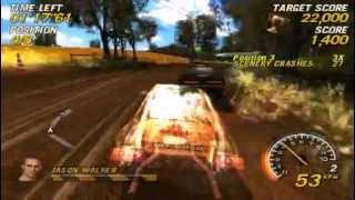 Flatout Head On PSP Gameplay