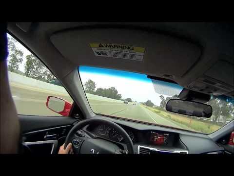 2013 Honda Accord EX-L Coupe v6 Manual transmission POV test drive