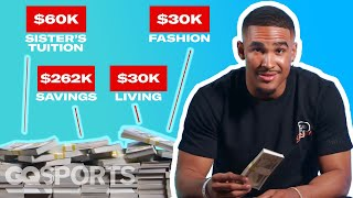 How Jalen Hurts Spent His First $1M in the NFL | My First Million | GQ Sports