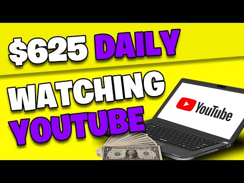Earn $625 WATCHING YOUTUBE VIDEOS *FREE* (Make Money Online From Home)