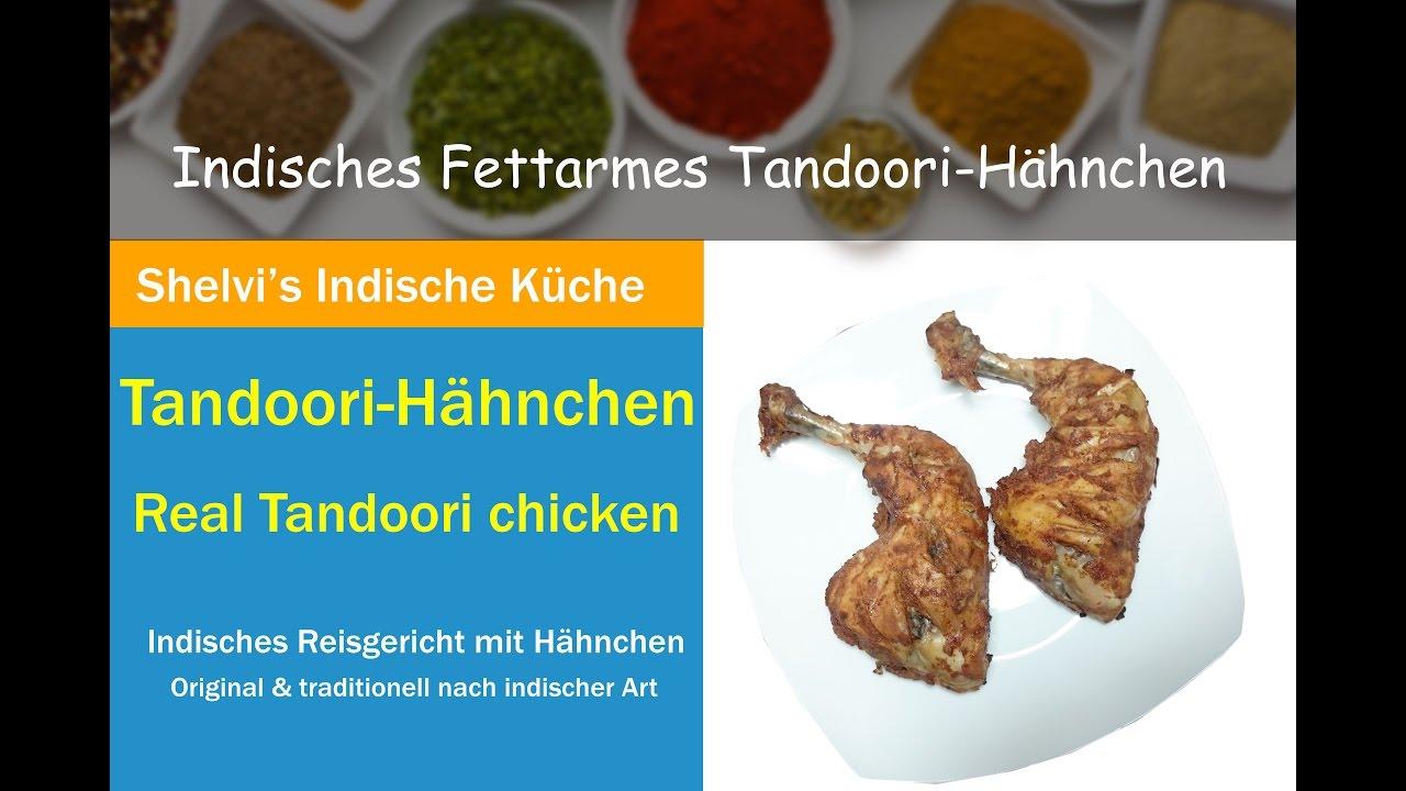 Indisches Fettarmes Tandoori-Hähnchen (Tandoori Chicken) - YouTube