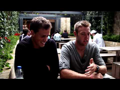 Jack Sock and Vasek Pospisil Visit Favourite Restaurant