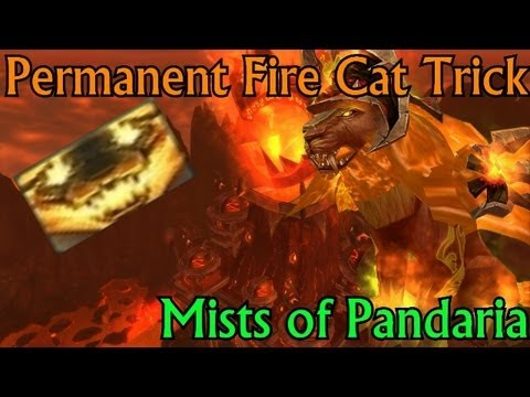 Feral Druid Tips and Tricks: Permanent Fire Cat with Normal Weapon ...