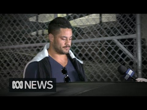 Jarryd Hayne charged with aggravated sexual assault by NSW Police | ABC News