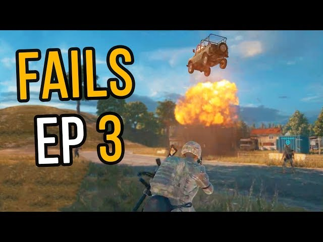 PUBG: Fails & Unlucky Moments Ep. 3