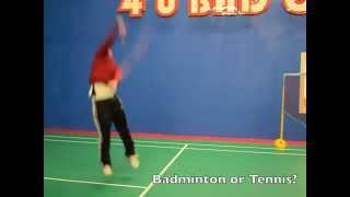 Focus on Badminton Game On Toronto Voting 2015 Pan Am Games Toronto District Badminton Association