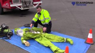 How to Inspect a Fully Encapsulated Gas Suit - HAZMAT - Chemical Suit