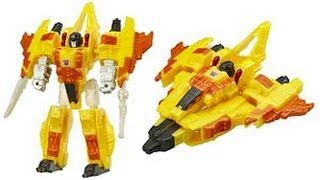 TRANSFORMERS TOY REVIEW - CYBERTRON SUNSTORM