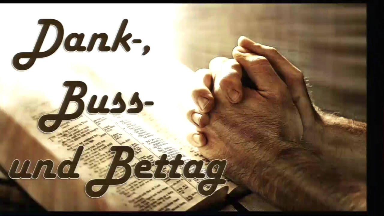 BuГџ Und Bettag Bw