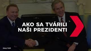 Ako sa tvárili slovenskí prezidenti na oficiálnych stretnutiach