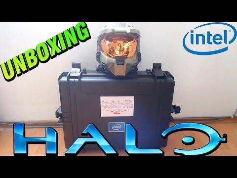 UNBOXING ÉPICO Regalo de 343 Industries   Paquete Exclusivo de HALO e INTEL