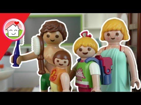 playmobil film deutsch - morgenroutine der familie hauser