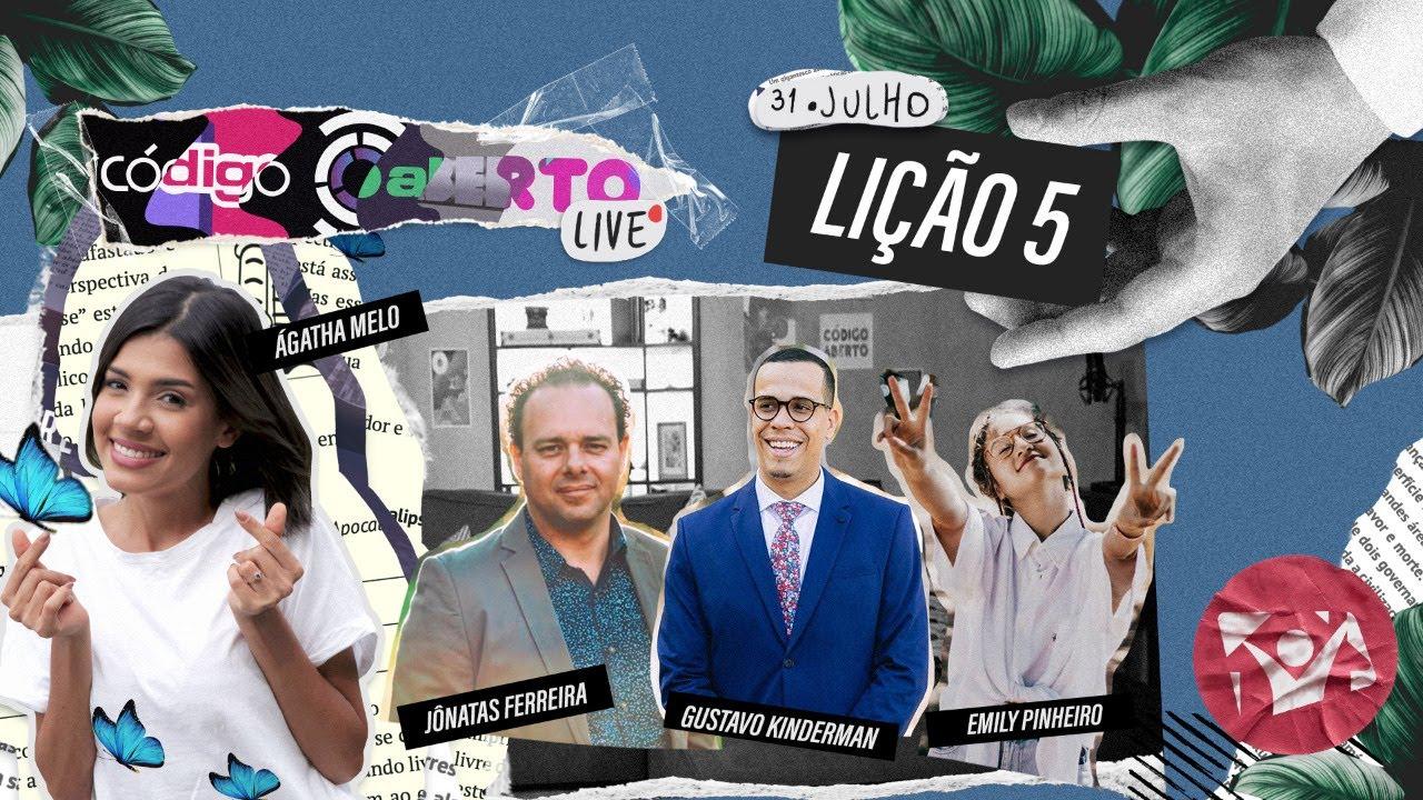 Código Aberto Live – Episódio 5 (Feat. Jônatas Ferreira, Emily Pinheiro e Gustavo Kinderman)