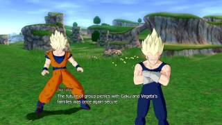 "Dragon Ball Raging Blast - What-If saga - 10 - ""The Family Tag-Team"""