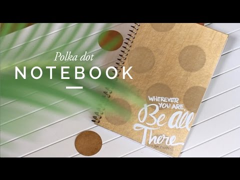 Back to School: DIY Personalized Notebook Cover