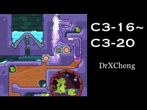 Wheres My Water? Cranky Walkthrough  Level C316 to C320 HD